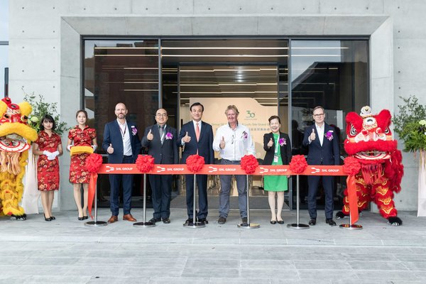 (SHL leaders and Taiwan government dignitaries grace the Liufu site ribbon-cutting ceremony)