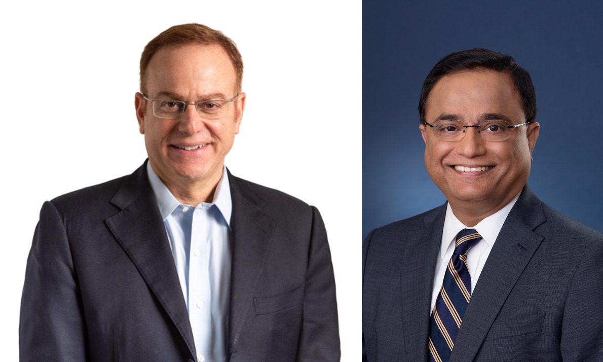 Karim Bitar, CEO ConvaTec Group Plc; Supratim Bose, President and COO, ConvaTec Global Emerging Markets